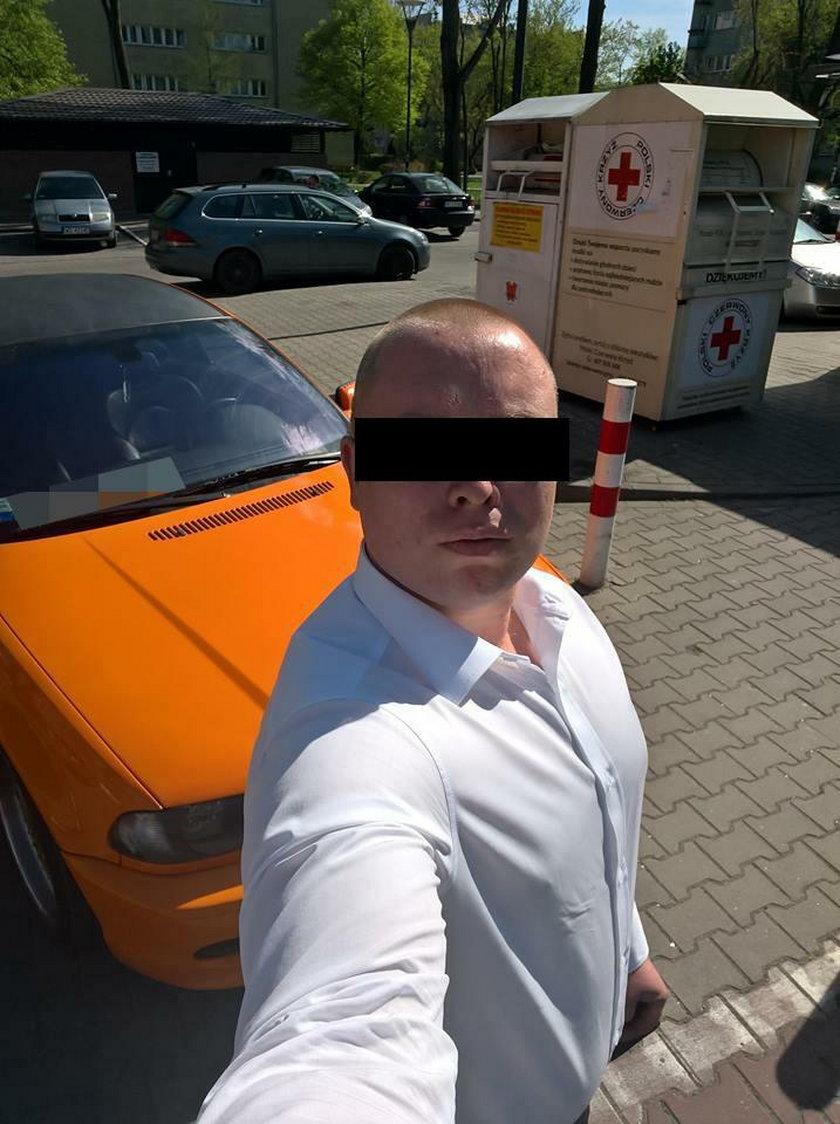 Krystian O. (31 l.) - to właśnie on zabił na pasach 33-letniego ojca rodziny