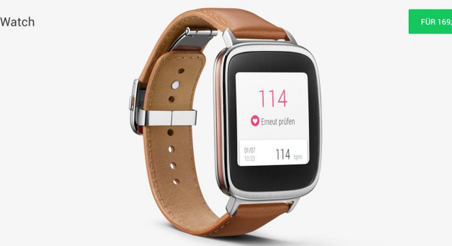 Asus Zenwatch jetzt im Google Play Store für 169 Euro erhältlich