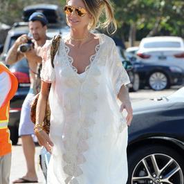 Heidi Klum i Mel B całe na biało na spotkaniu. Która wypadła lepiej?