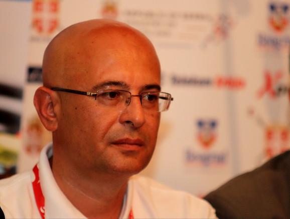 Nebojša Jevremović, generalni sekretar Veslačkog saveza Srbije