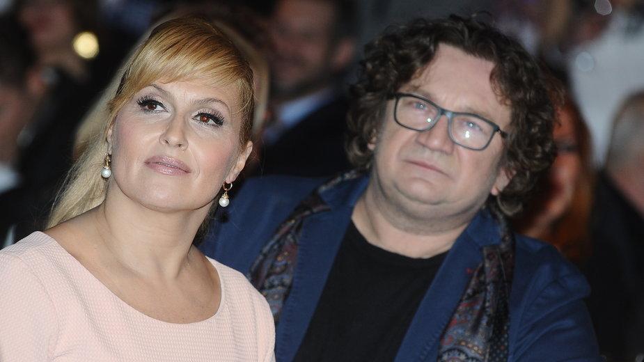 Katarzyna Skrzynecka i Paweł Królikowski