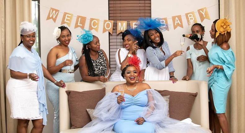 How Mwende Macharia's Baby Shower went down in Photos