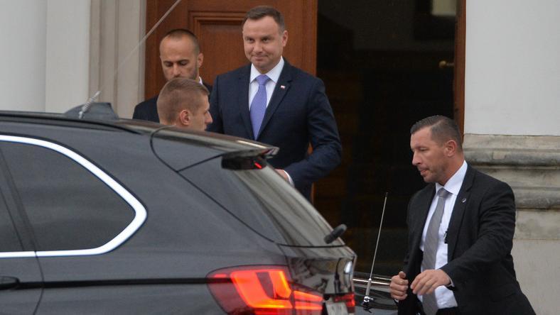 Spotkanie prezydenta z prezesem PiS odbyło się dziś w Belwederze