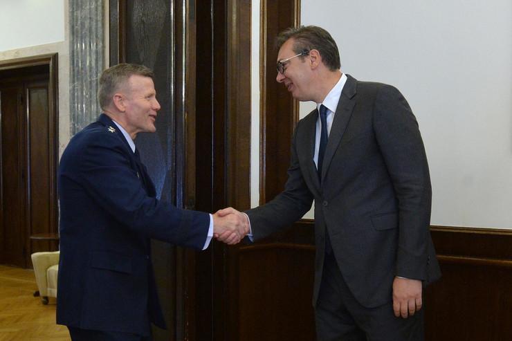 Aleksandar Vučić i Tod Volters