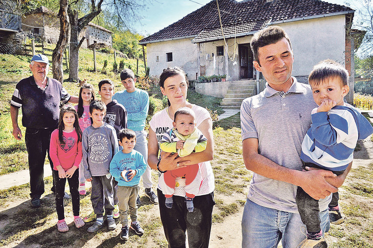 srce za decu, porodica radivojević