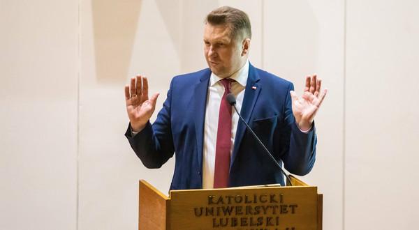 Przemysław Czarnek, minister nauki i edukacji