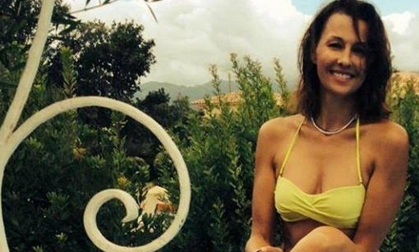 Anna Popek w bikini