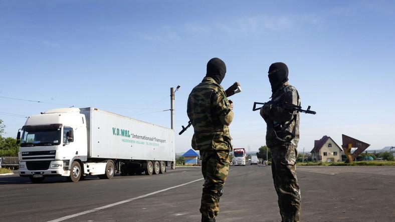 Na Ukrainie działają trzy grupy separatystów