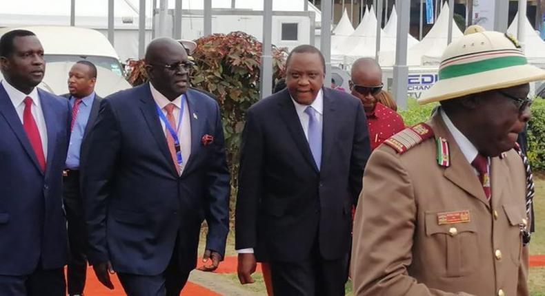 President Uhuru Kenyatta scraps off national examinations for primary school pupils under the new Competency Based Curriculum