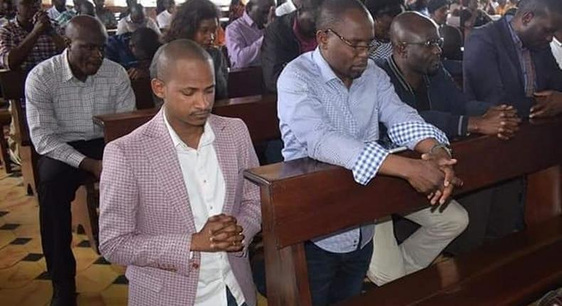 When I was a chang'aa seller, you made me MP - Embakasi East MP Babu Owino's hilarious prayer