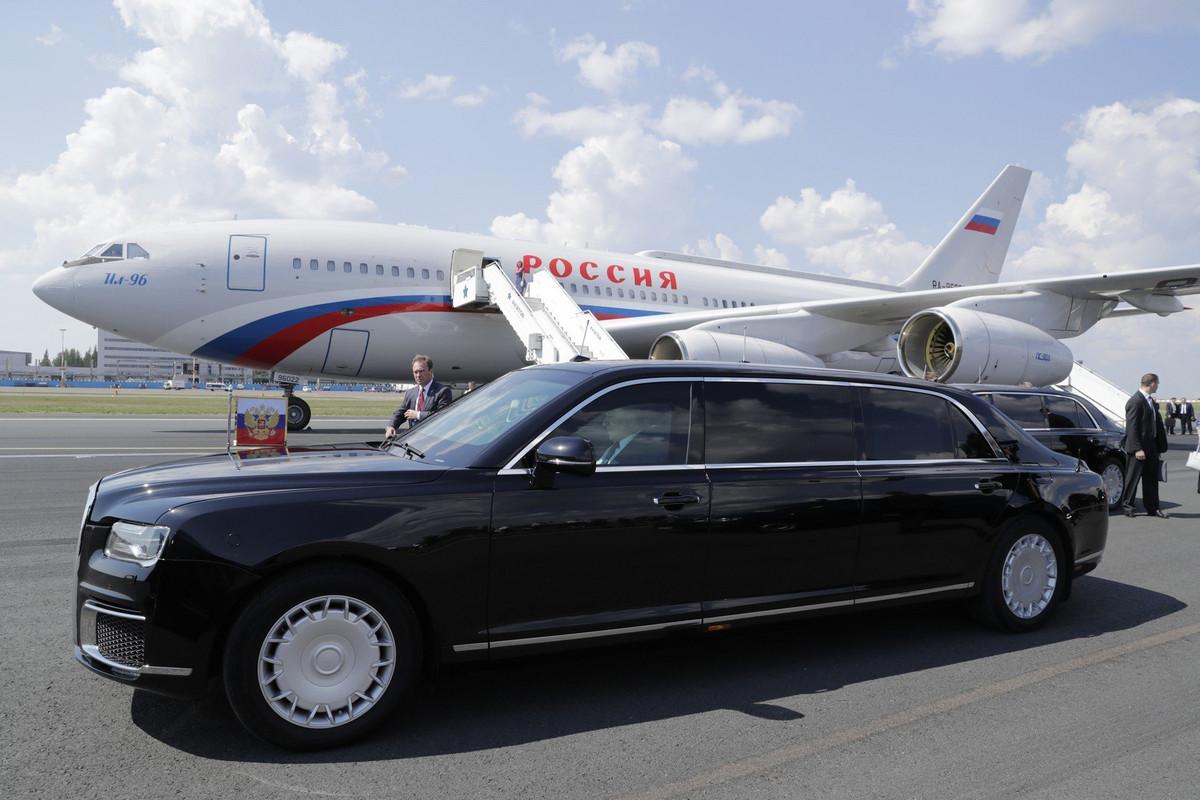 BELA KOŽA, ZLATO, MERMER... Avioni Trampa i Putina su luksuzne leteće tvrđave, ali jedan je skuplji POLA MILIJARDE od drugog FOTO, VIDEO