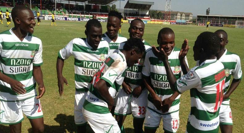Nzoia United players