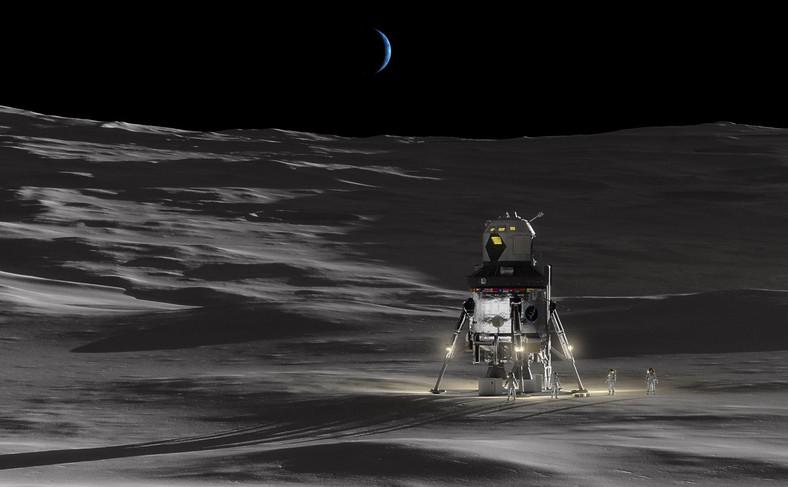 Księżycowy lądownik