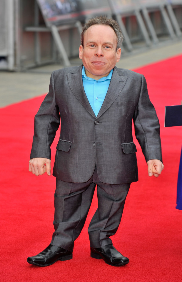 8. Warwick Davies (fot. Getty Images)