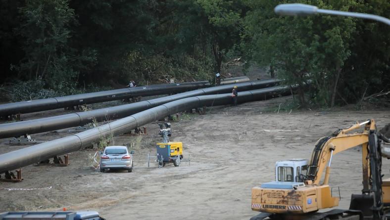 Budowa rurociągu zastępczego w stolicy