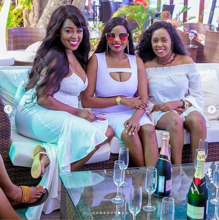 How Lilian Muli's all-white birthday party went down at the Coast ...