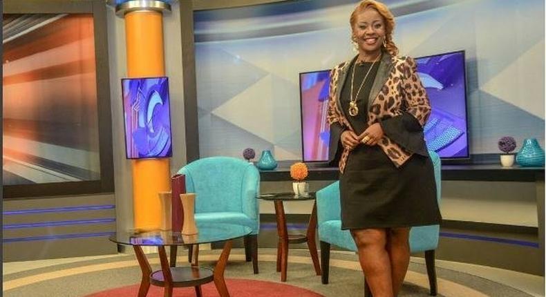 Kalekye Mumo is now the host of K24's Talk Central.
