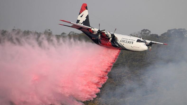 Gaszenie pożarów w Australii
