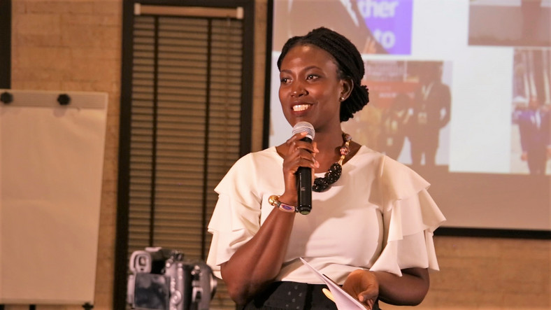 Sylvia Kunkyebe, Assistant Director of career services at Ashesi University