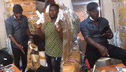 Ghanaian man in Turkey shockingly discovers how guns are smuggled to Ghana (VIDEO)