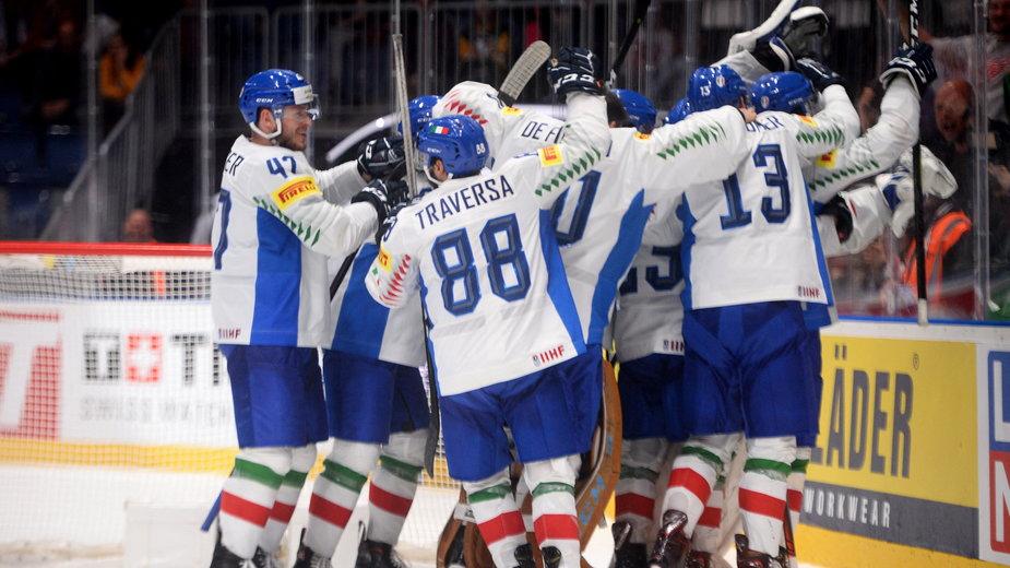 Hokejowa reprezentacja Włoch