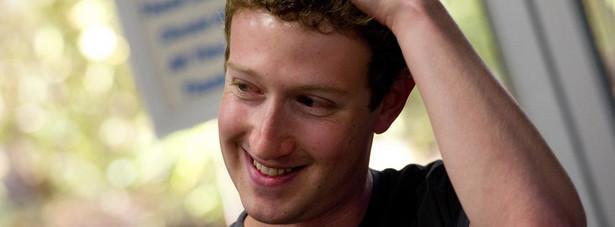 1. Mark Zuckerberg z Facebook'a.
