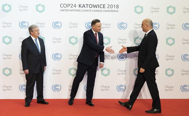 """""""Podobnie, jak 100 lat temu Polska jest dziś gotowa do wzięcia swojej części odpowiedzialności za międzynarodowe bezpieczeństwo"""" - oświadczył. """"Tym razem także w wymiarze polityki klimatycznej"""" - dodał prezydent."""