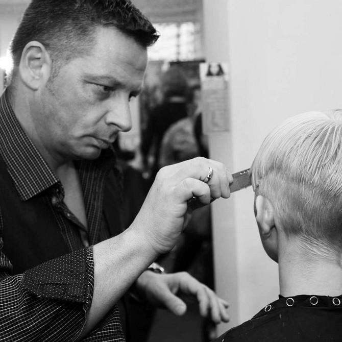 Aleksandar Blagojević, frizer Megan Markl