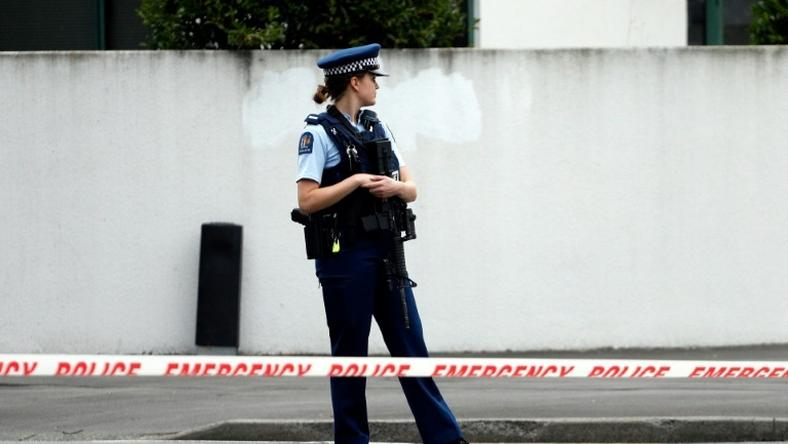 Jacinda Ardern said the gunman, a 28-year-old Australian, obtained a gun licence in November 2017 Attacks on two Christchurch mosques left at least 49 dead on March 15, with one gunman -- identified as an Australian extremist -- apparently livestreaming the assault that triggered the lockdown of the New Zealand city.