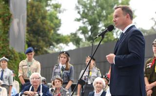 Prezydent: Powstanie Warszawskie to wydarzenie istotne dla całej Polski