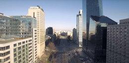 Tak wygląda opustoszała Warszawa. Nagranie robi wrażenie