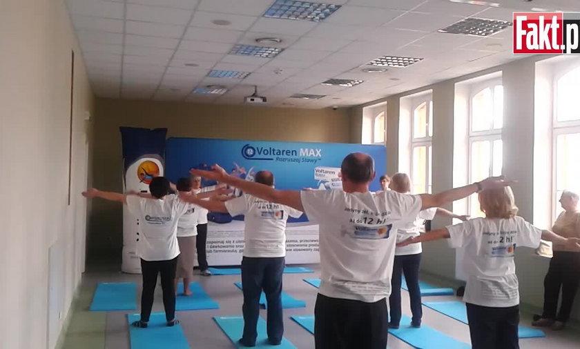 Seniorzy ćwiczyli w Gdańsku