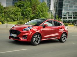 Nowy Ford Puma – pięć rzeczy, które mogą sięspodobać