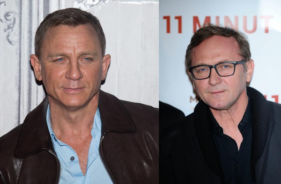 Daniel Craig i Andrzej Chyra