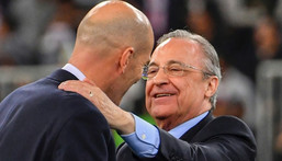 Florentino Perez is in his second spell as Real Madrid president