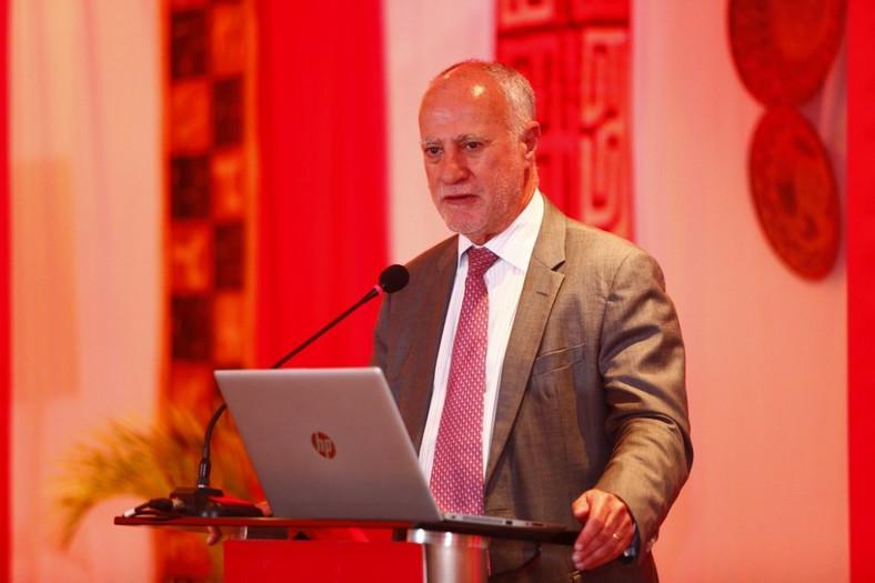 Safaricom interim Chief Executive Officer (CEO) Michael Joseph