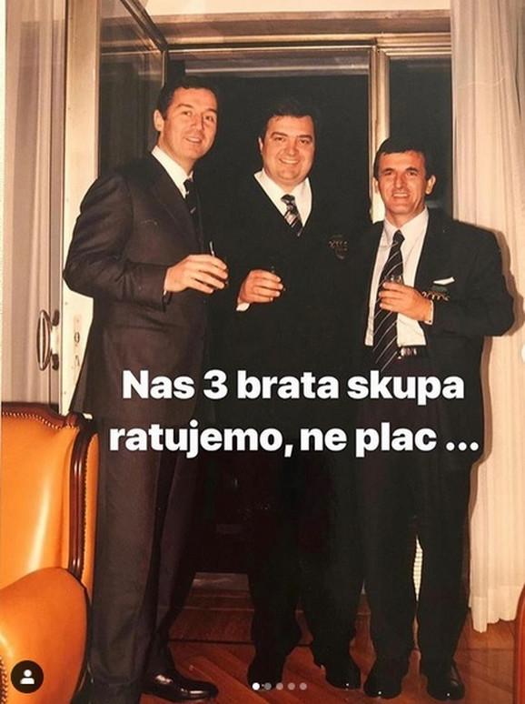 Milo Đukanović, Duško Knežević i Sveto Marović