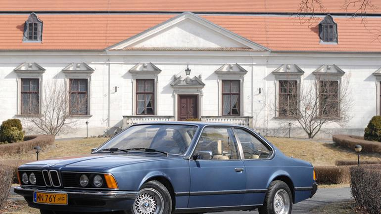 BMW E24 czyli Rekin na wymarciu