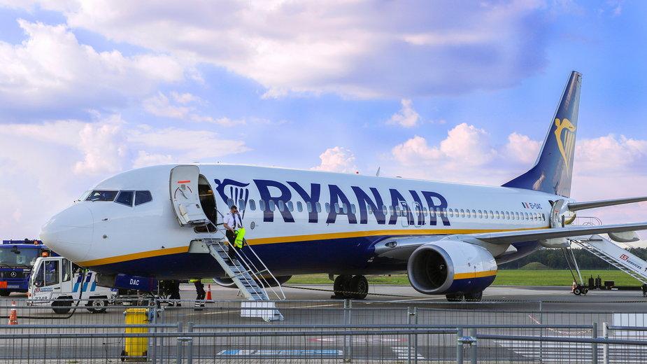 Ryanair ogłosił nowe trasy z Polski oraz rozkład lotów na zimę