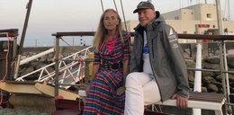 Trudne chwile Wander i jej męża na oceanie. Było groźnie