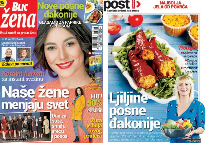 """Nova """"Blic žena"""" stiže na kioske 16. marta"""
