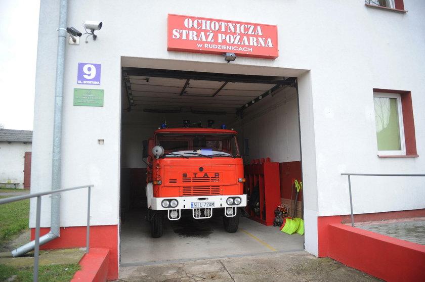 Straszna śmierć strażaka