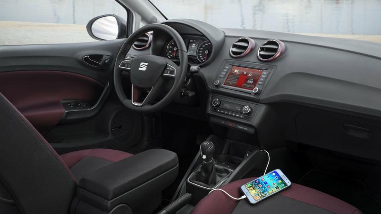 SEAT IBIZA z Samsung Galaxy A3