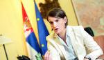 """Ana Brnabić za švajcarski """"Blik"""": Hag nas nije pomirio, neki krivci nisu osuđeni"""