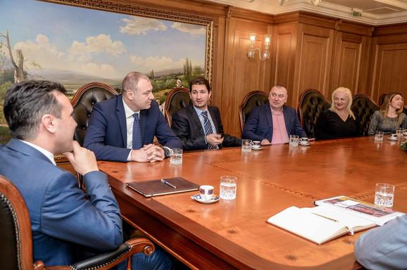 Delegacija SIM u radnoj poseti kod predsednika vlade Makedonije