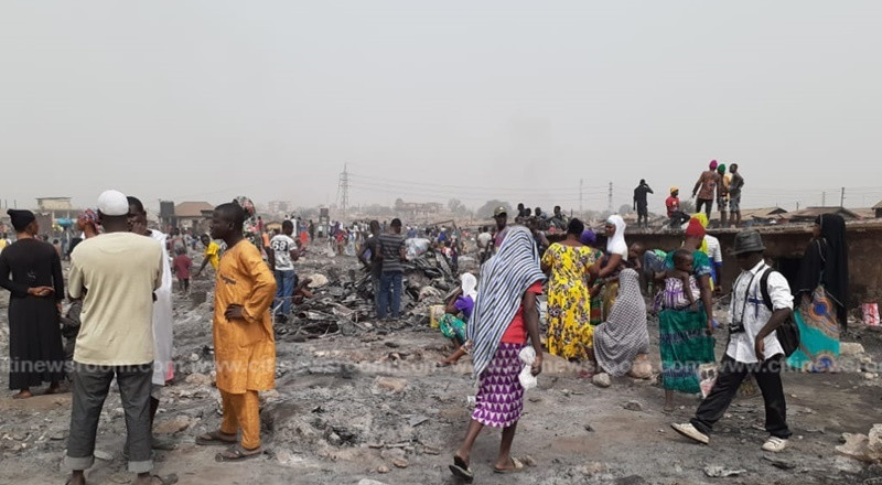 Kumasi: 13,000 people homeless following Dagombaline fire incident