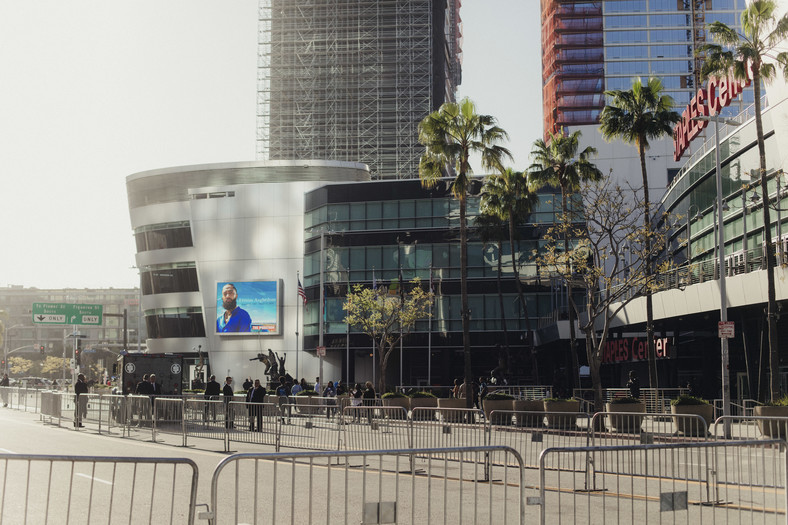 The memorial service for the late Eritrean-American rapper Nipsey Hussle has been held at the Staple Center in Los Angeles.