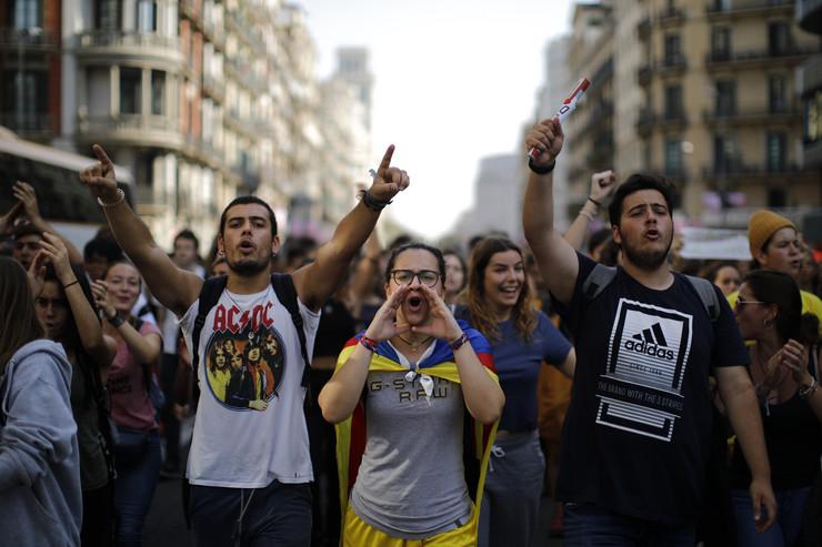 Barselona, Katalonija, protesti