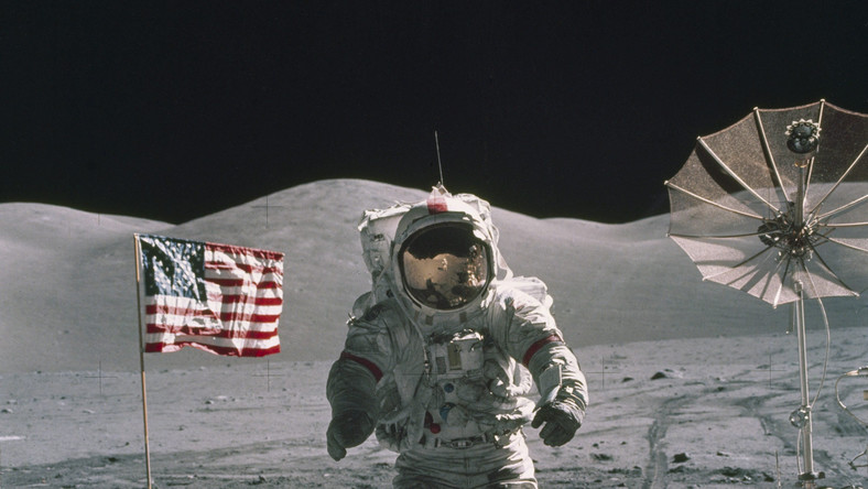 Eugene Cernan na Księżycu, 12 grudnia 1972 roku