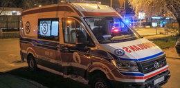 Poważny wypadek karetki w Łodzi